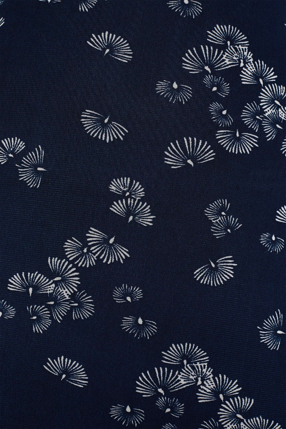 Mesh dress with an all-over print, NAVY 4, detail image number 4