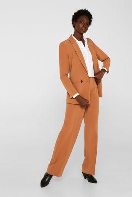 Crêpe blouse with elegant details, 100% cotton, OFF WHITE, detail