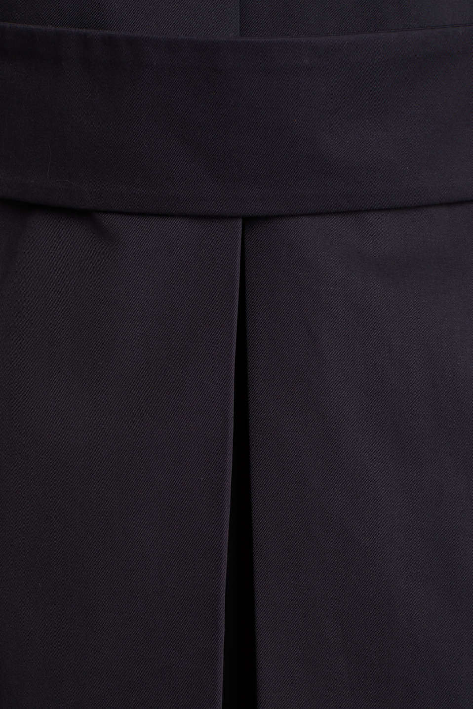 Cotton coat with a high stand-up collar, NAVY, detail image number 4