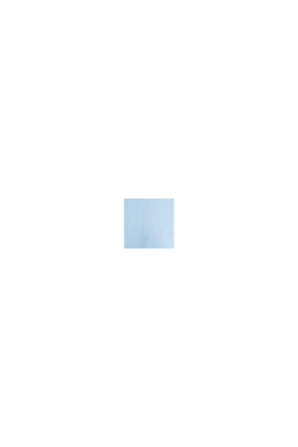 Baumwoll-Mantel mit hohem Stehkragen, LIGHT BLUE, swatch