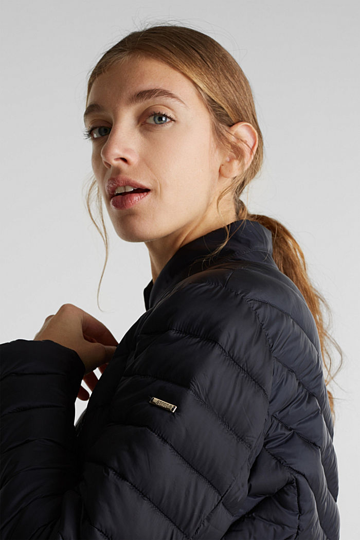 Quilted jacket with 3M™ Thinsulate™ padding, BLACK, detail image number 2