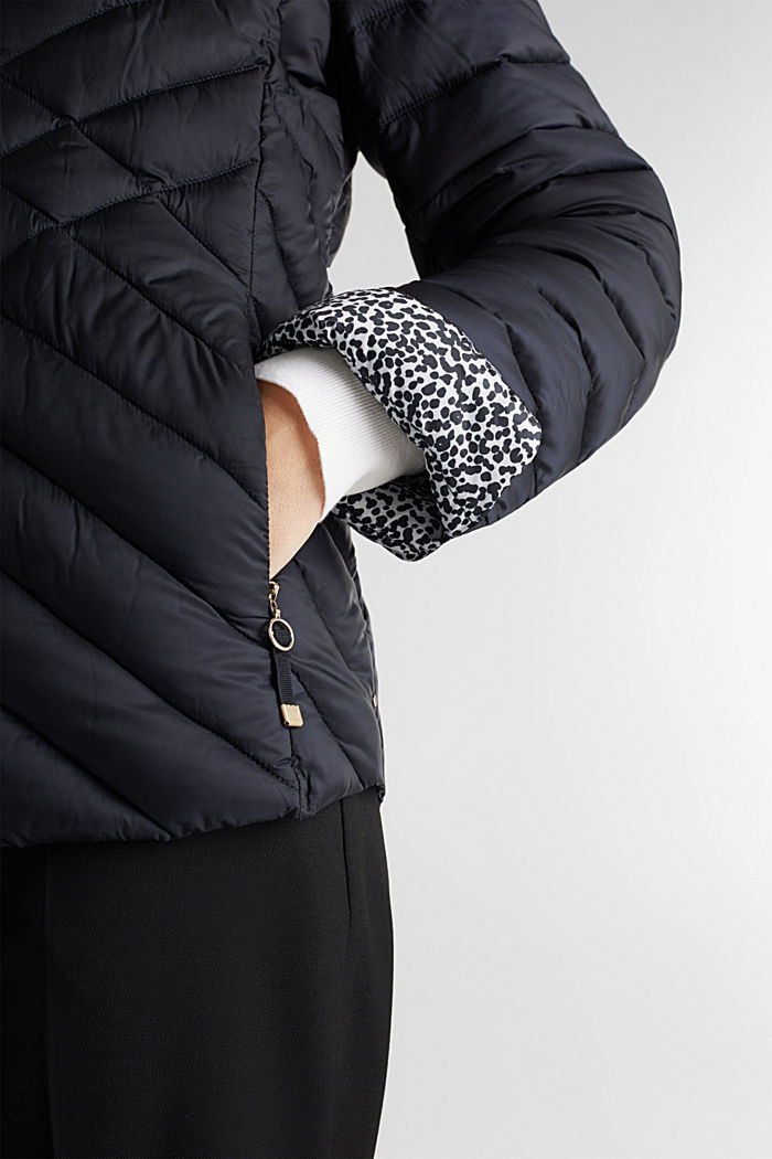 Quilted jacket with 3M™ Thinsulate™ padding, BLACK, detail image number 5