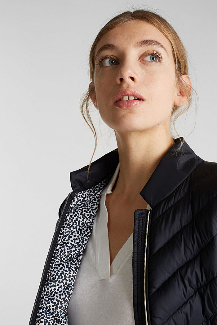 Quilted jacket with 3M™ Thinsulate™ padding, BLACK, detail image number 7