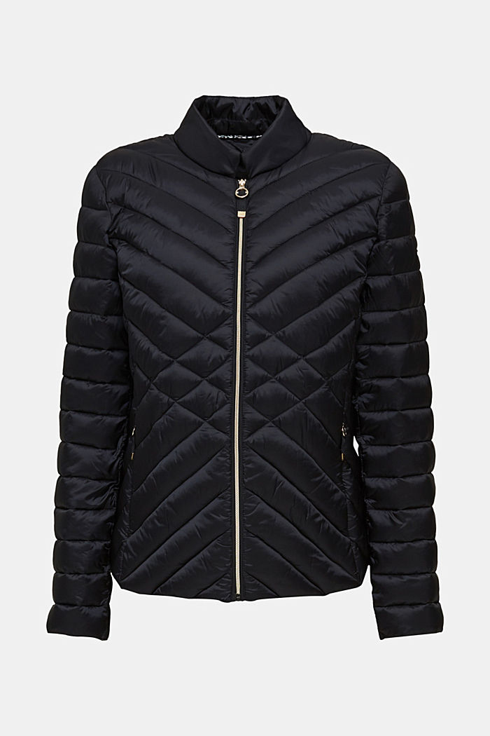 Quilted jacket with 3M™ Thinsulate™ padding, BLACK, detail image number 8