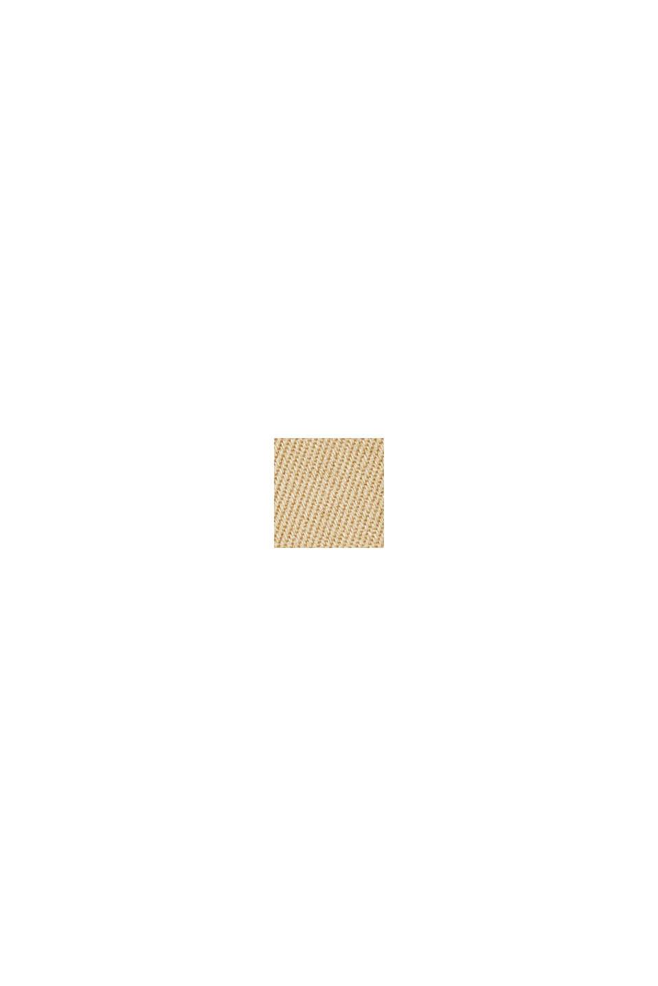 Zweireihiger Trenchcoat, 100% Baumwolle, BEIGE, swatch