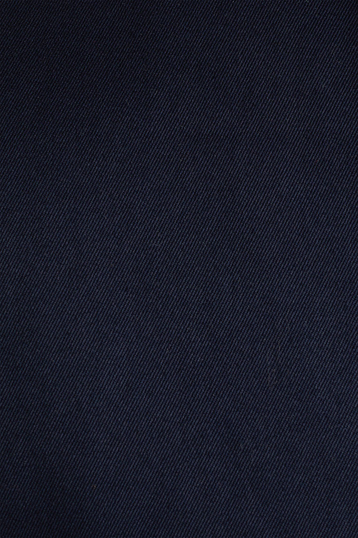 Double-breasted trench coat, 100% cotton, NAVY, detail image number 3