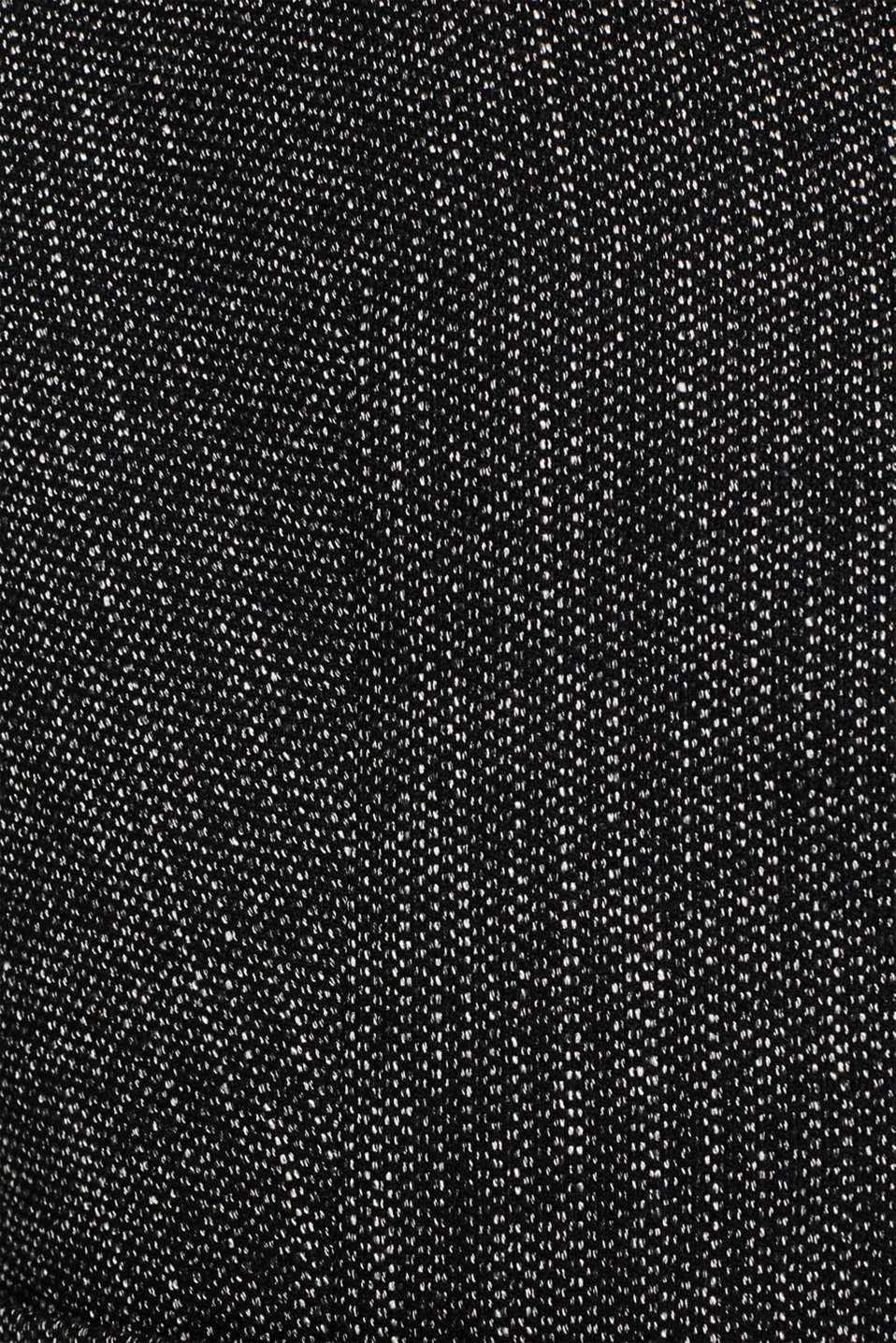 Blazer in a salt and pepper look, BLACK 2, detail image number 4