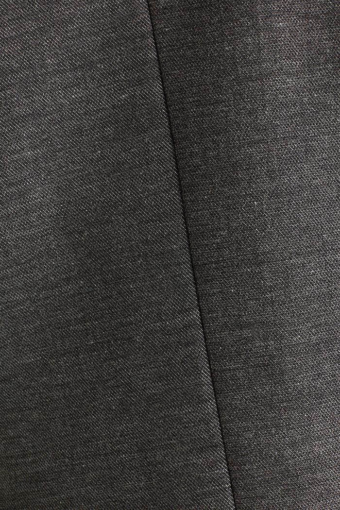 SHINY STRUCTURE Mix + Match Stretch-Blazer, DARK GREY, detail image number 3