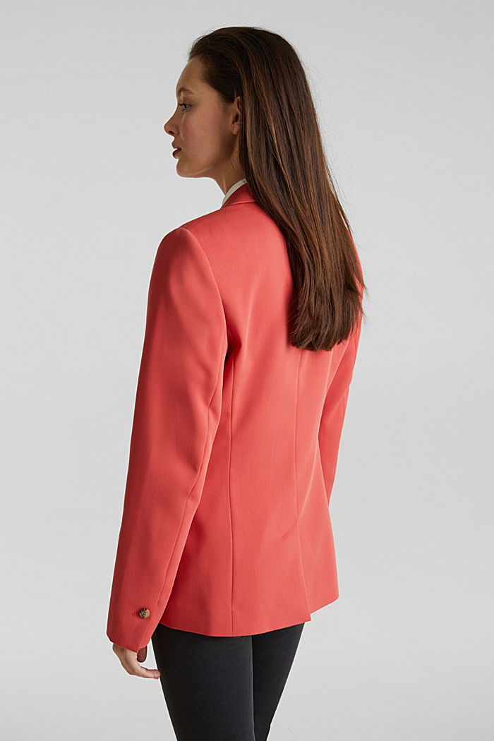 SPRING TWILL Mix + Match Stretch-Blazer, TERRACOTTA, detail image number 3