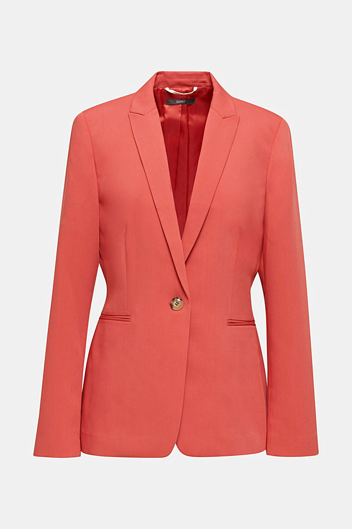 SPRING TWILL Mix + Match Stretch-Blazer, TERRACOTTA, detail image number 7