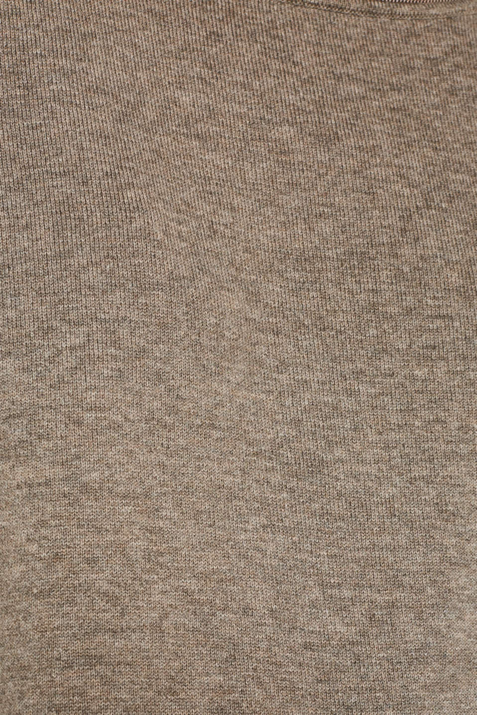 With silk: jumper with shiny details, LIGHT TAUPE 3, detail image number 3