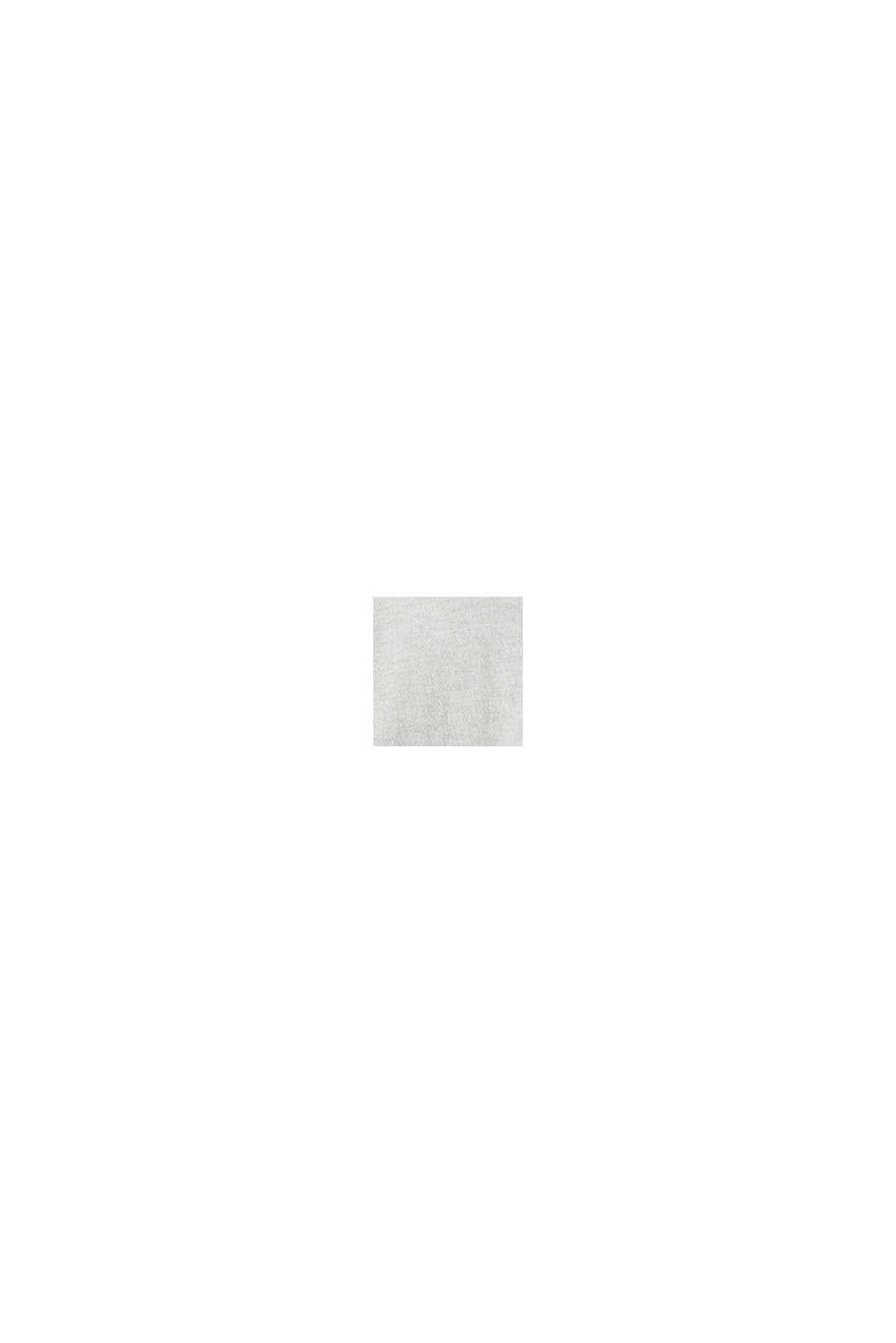 Met zijde: trui met polokraag, LIGHT GREY, swatch