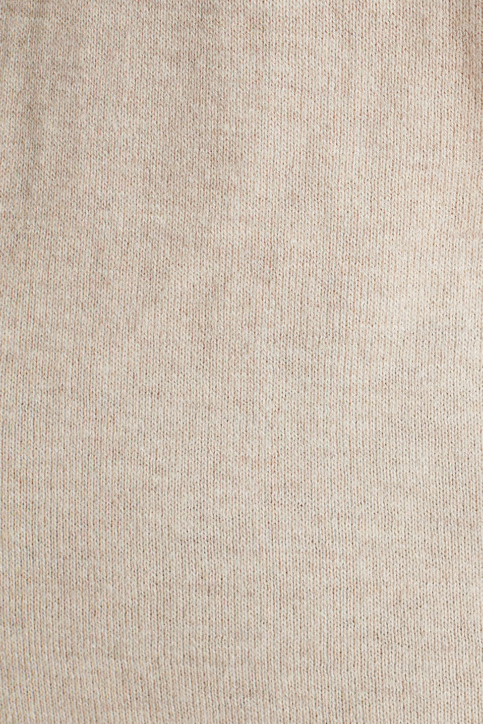 With silk: Jumper with a polo collar, SAND 5, detail image number 4