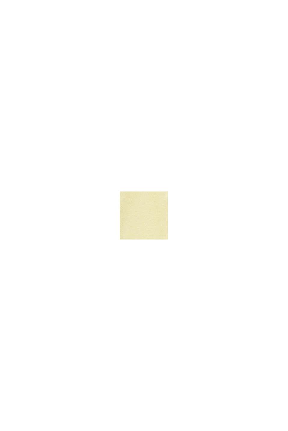 Met zijde: trui met polokraag, LIME YELLOW, swatch