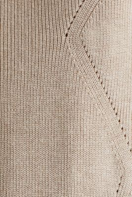 Jumper with a textured pattern, SAND 5, detail