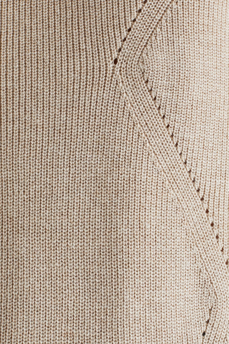 Jumper with a textured pattern, SAND 5, detail image number 4