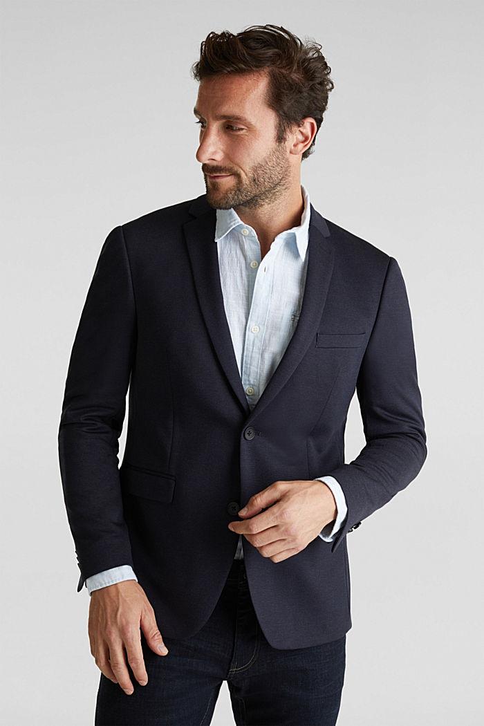 JOGG SUIT mix + match: sports jacket, DARK BLUE, detail image number 0