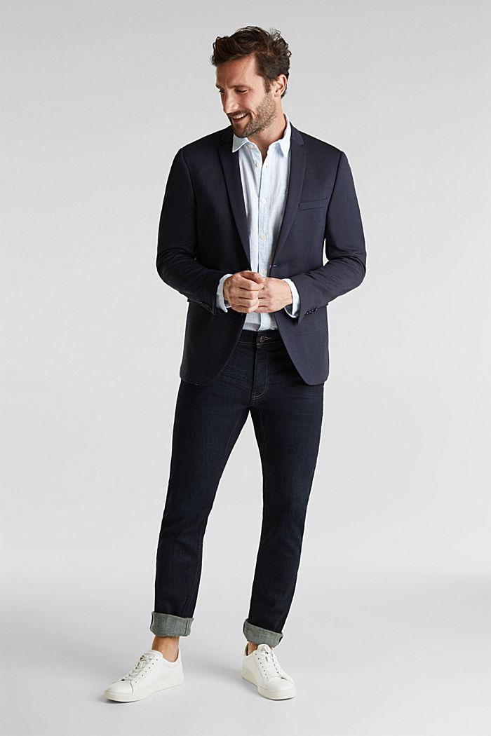 JOGG SUIT mix + match: sports jacket, DARK BLUE, detail image number 1