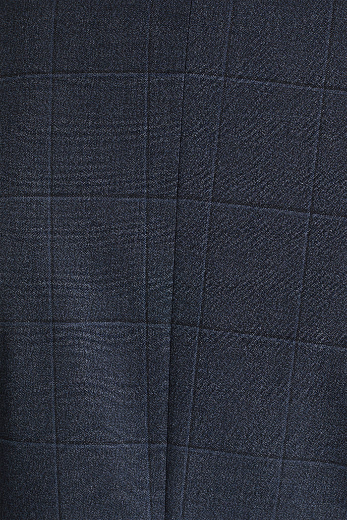 WINDOW CHECK mix + match stretch jacket, DARK BLUE, detail image number 5
