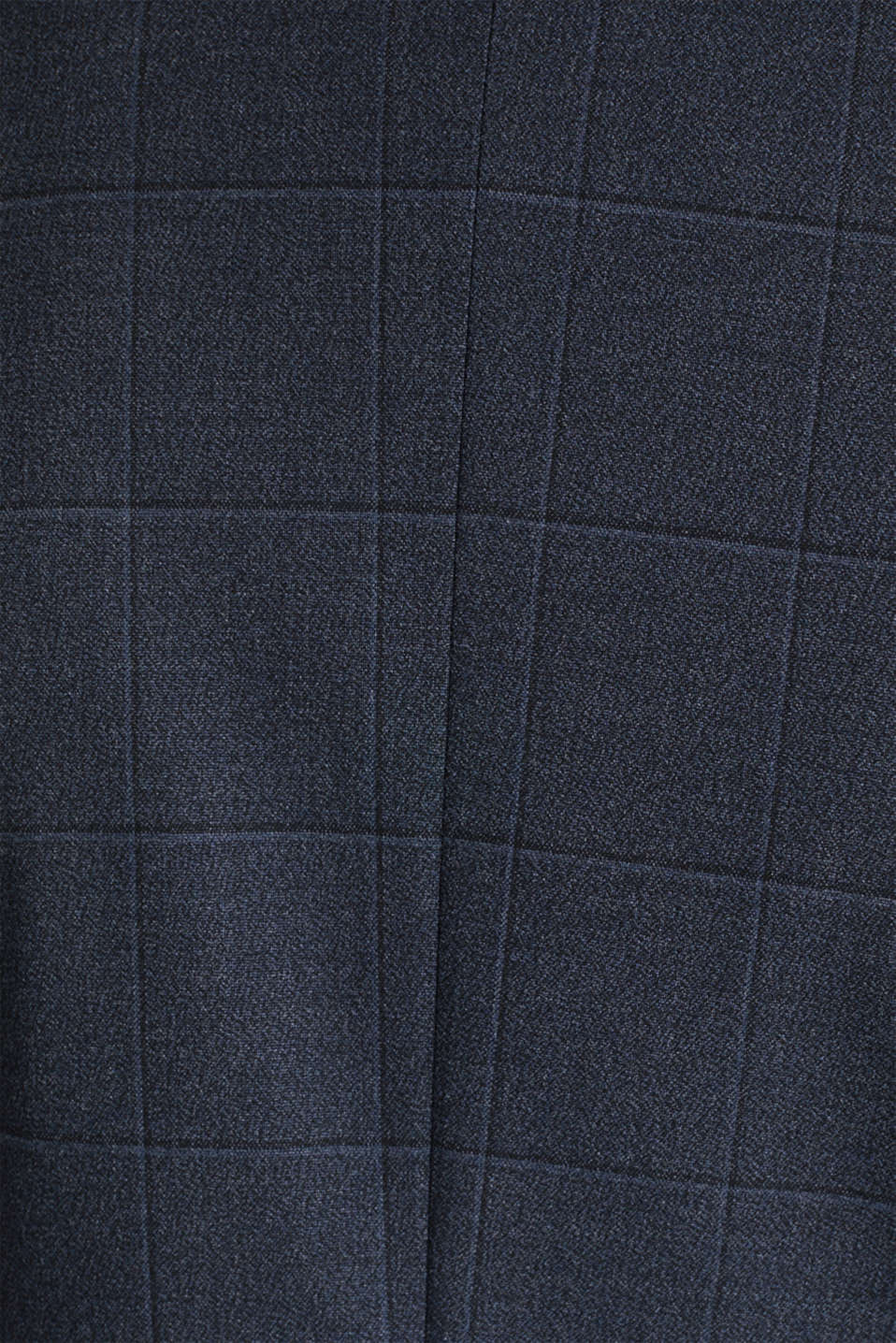 WINDOW CHECK mix + match stretch jacket, DARK BLUE 3, detail image number 5