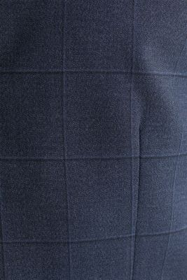 WINDOW CHECK mix + match: waistcoat, DARK BLUE 3, detail