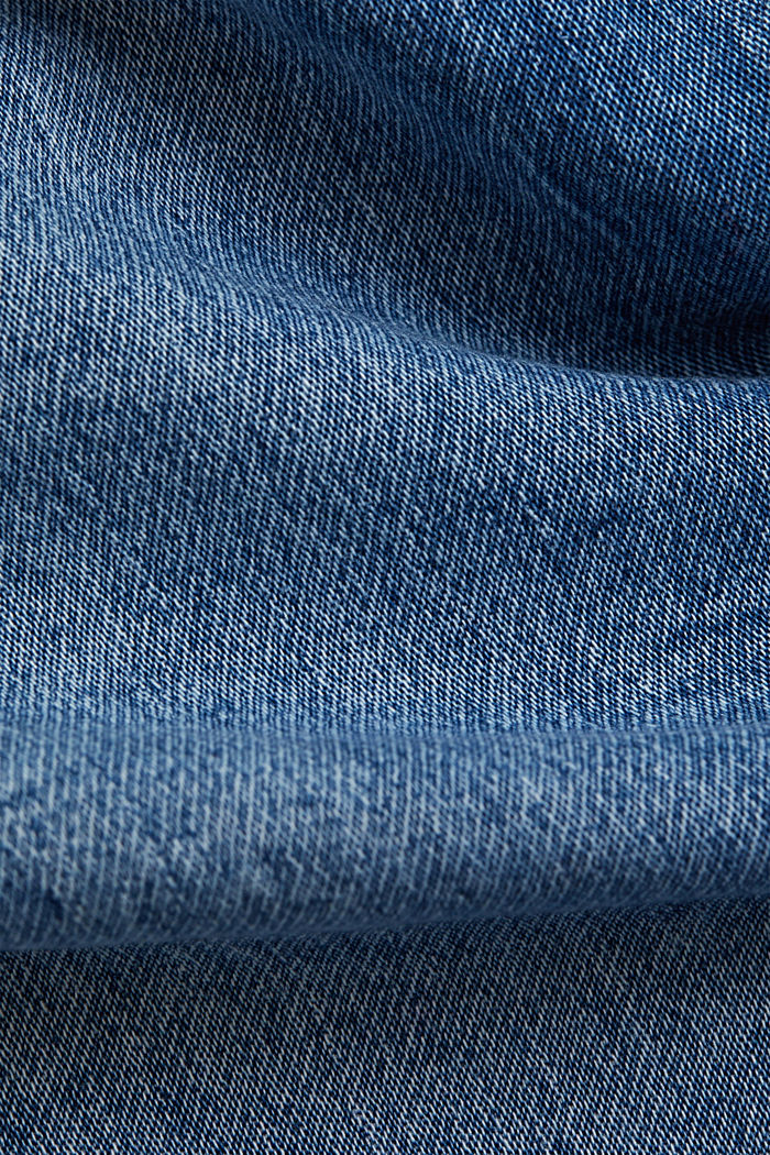 Jogger-Jeans im Boyfriend-Cut, BLUE MEDIUM WASHED, detail image number 4