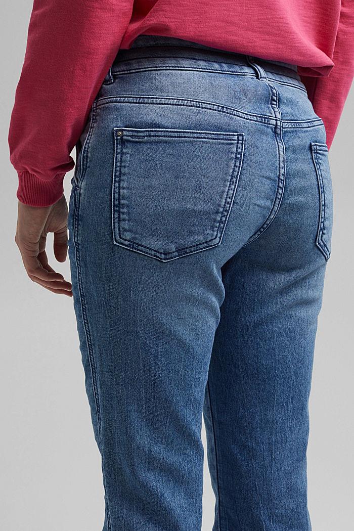 Jogger-Jeans im Boyfriend-Cut, BLUE MEDIUM WASHED, detail image number 5