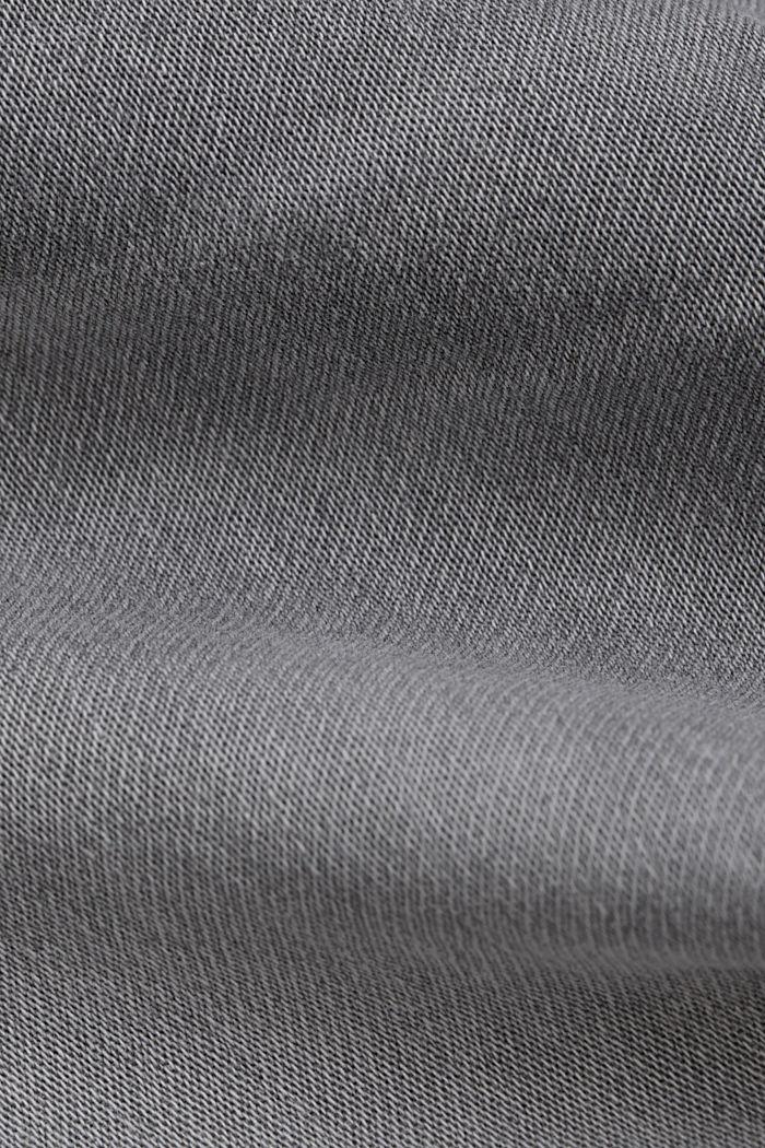 Jogger jeans met boyfriendmodel, GREY LIGHT WASHED, detail image number 4