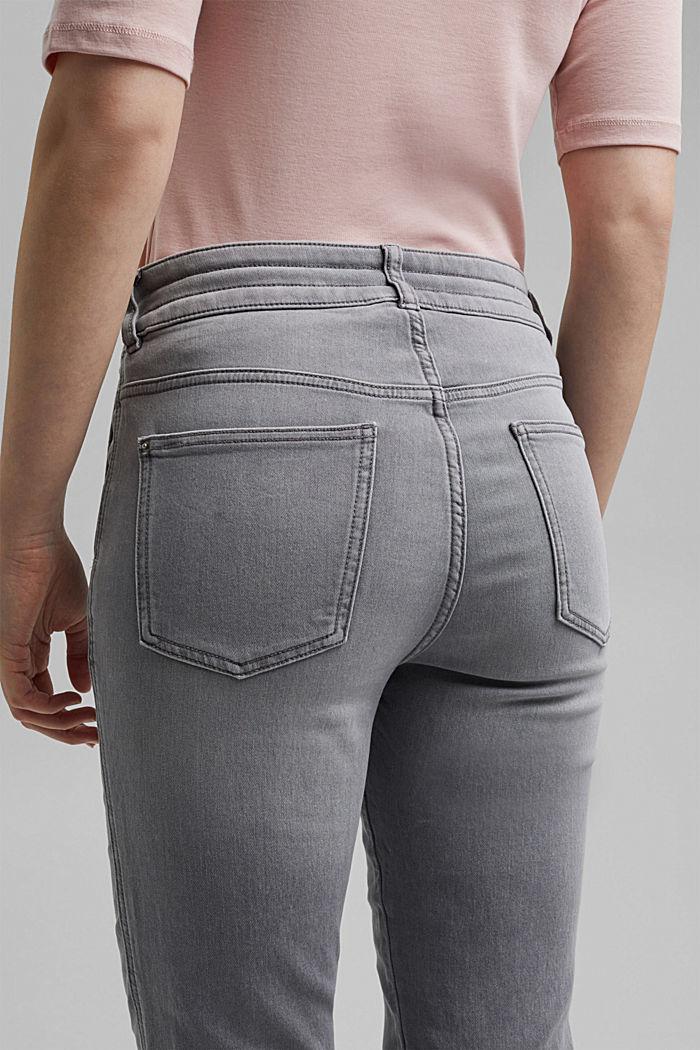 Jogger jeans met boyfriendmodel, GREY LIGHT WASHED, detail image number 5
