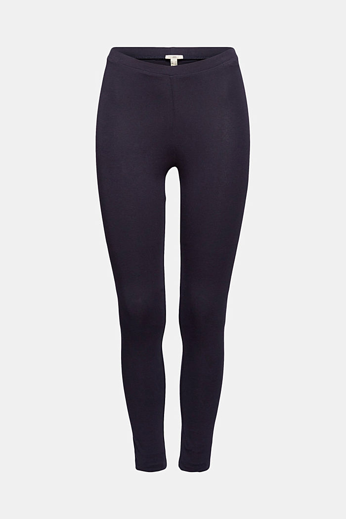 Basic Leggings aus Bio-Baumwolle/ Stretch