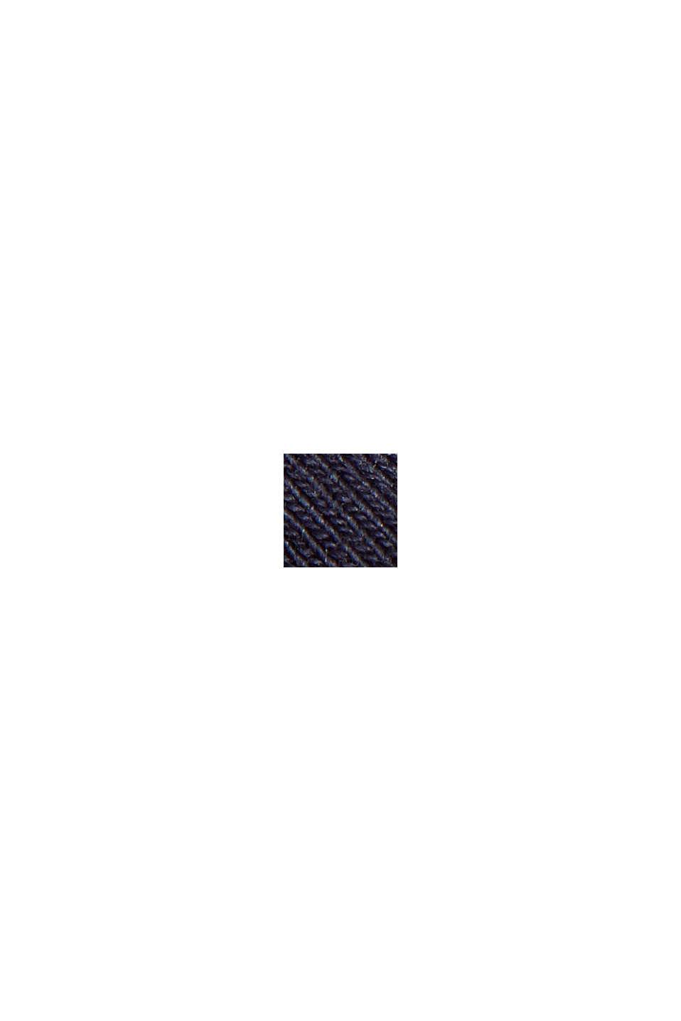 Leggings básicos de algodón ecológico/elásticos, NAVY, swatch