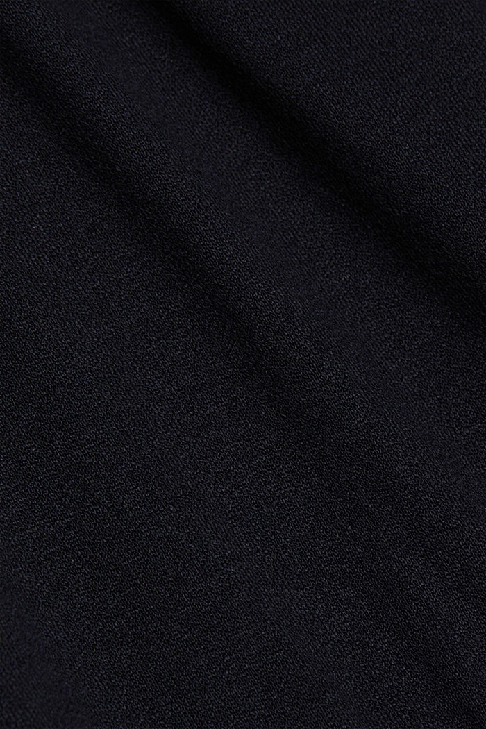 Jersey dress with LENZING™ ECOVERO™, BLACK, detail image number 5