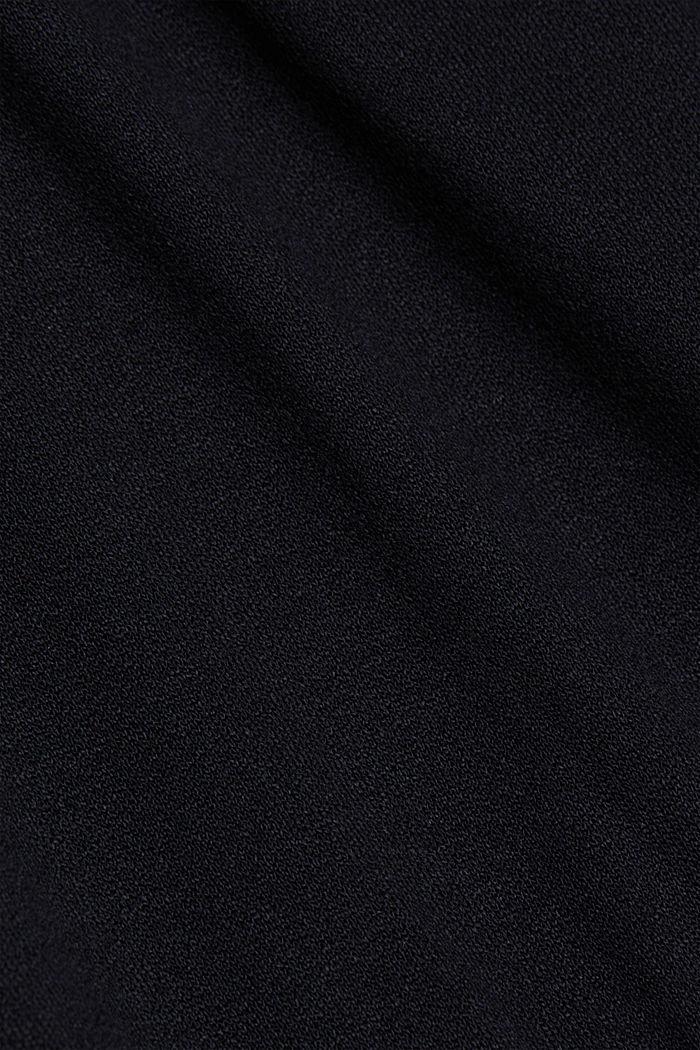 Vestido de jersey con LENZING™ ECOVERO™, BLACK, detail image number 5