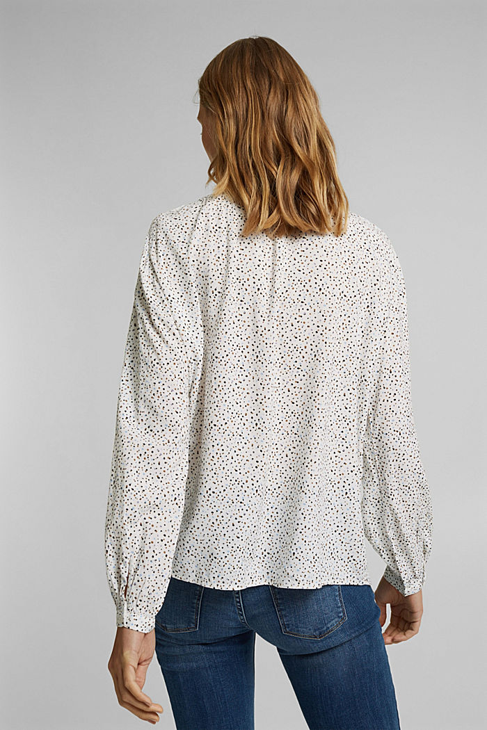 Blouse van LENZING™ ECOVERO™, OFF WHITE, detail image number 3