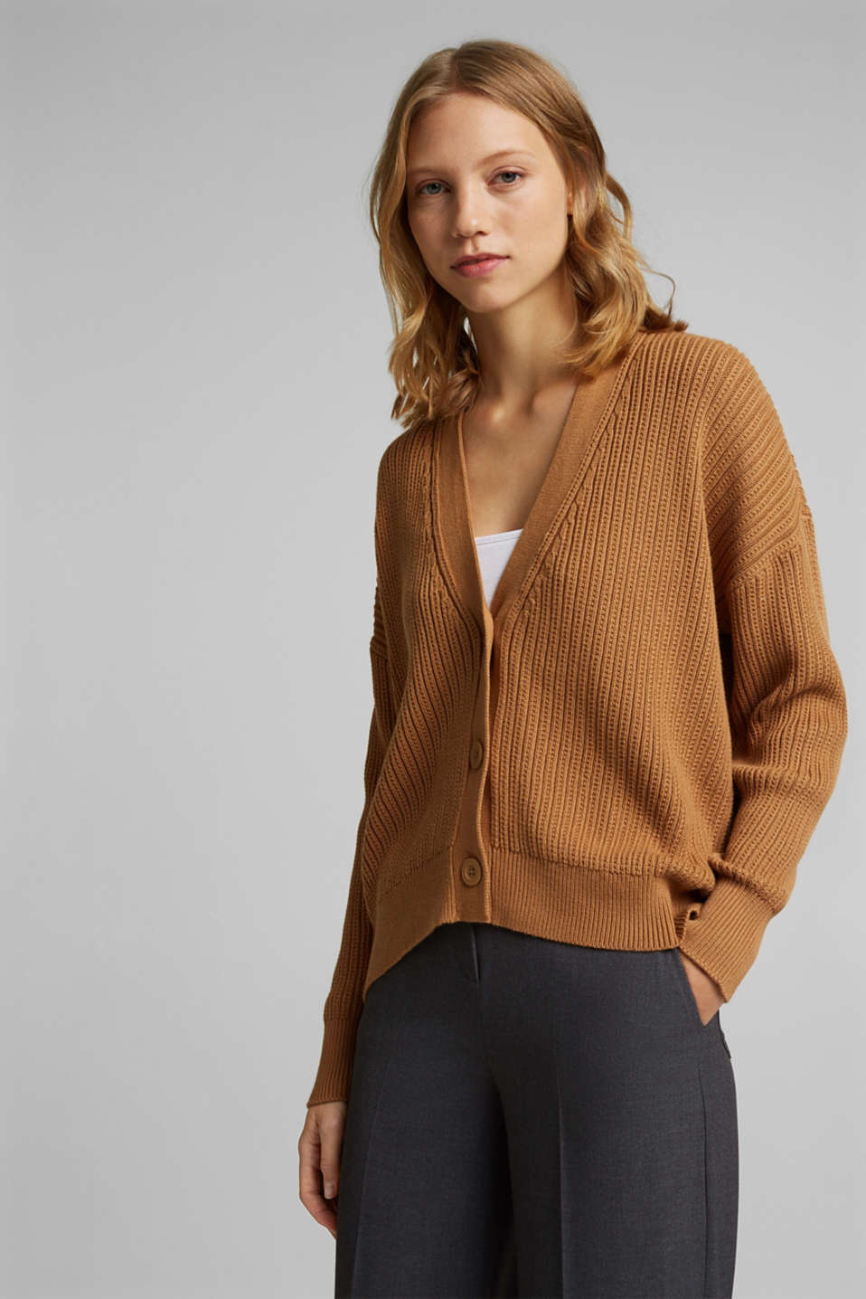 edc - Cardigan in 100% cotone biologico