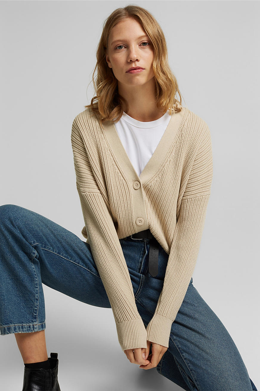 Cardigan aus 100% Organic Cotton