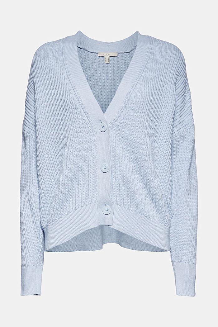 Cardigan made of 100% organic cotton