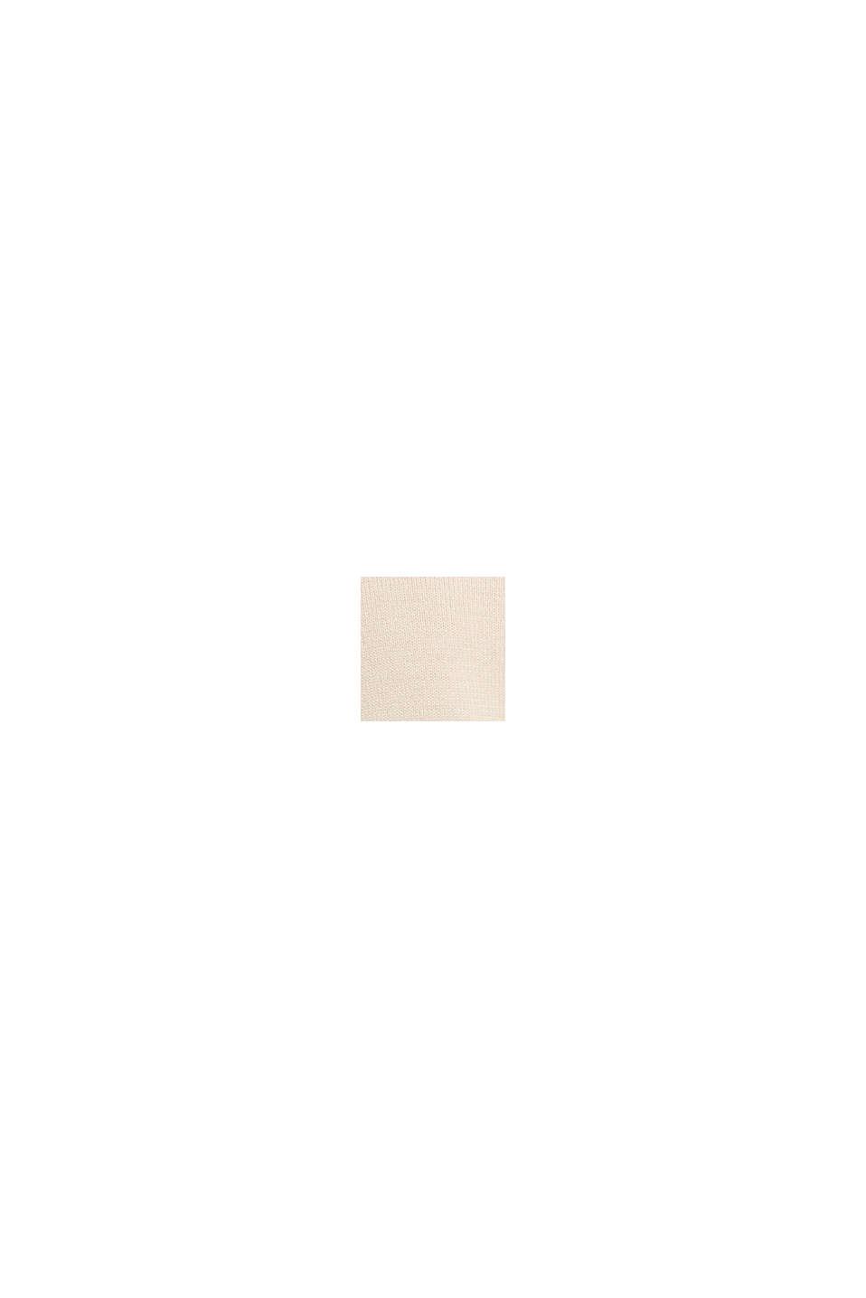 Layer-Pullover mit Organic Cotton, BEIGE, swatch