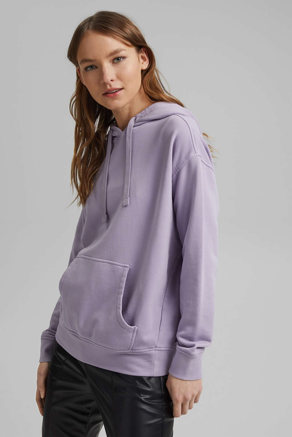 edc - Hooded sweatshirt with organic cotton