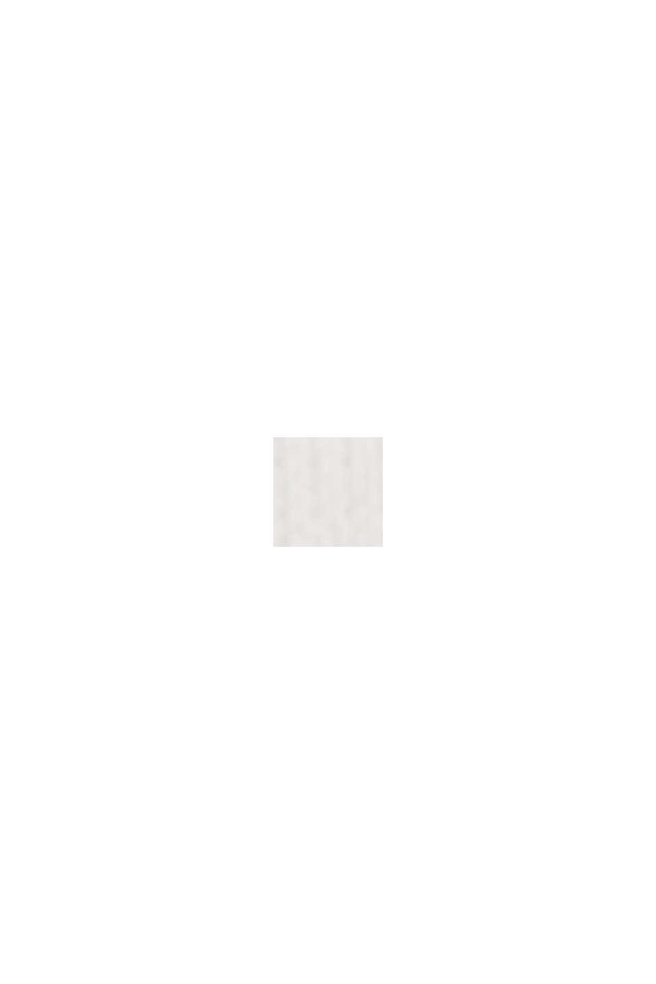 Langærmet overdel af 100% økologisk bomuld, OFF WHITE, swatch