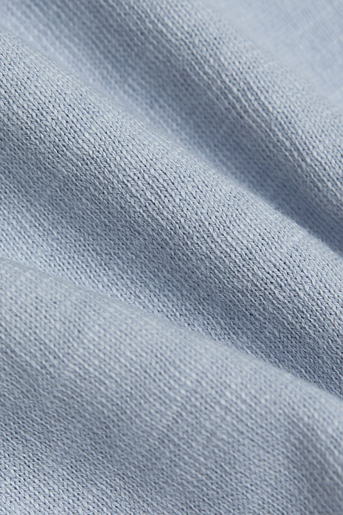 Longsleeve aus 100% Organic Cotton, LIGHT BLUE LAVENDER, detail image number 4