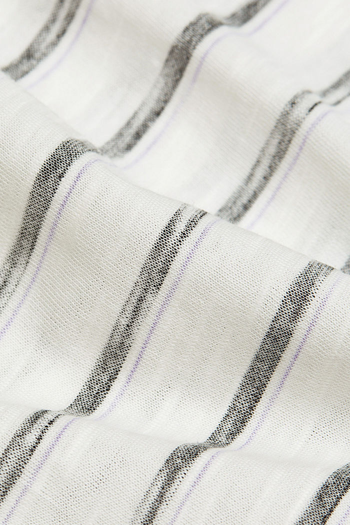 T-Shirt aus 100% Organic Cotton, OFF WHITE, detail image number 4