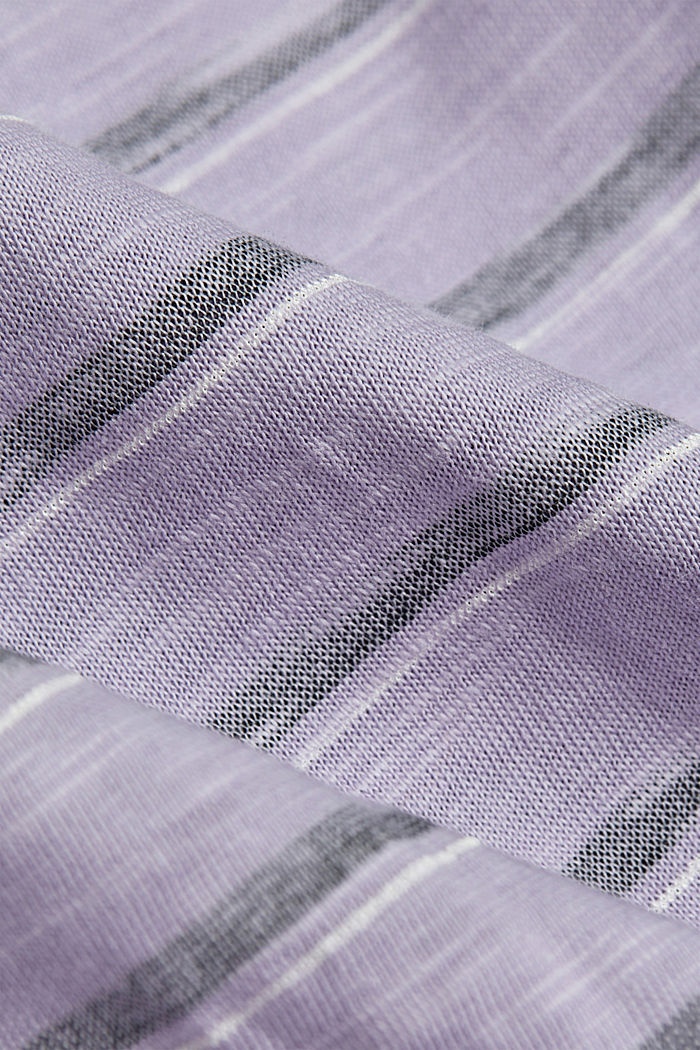 T-shirt made of 100% organic cotton, LILAC, detail image number 4