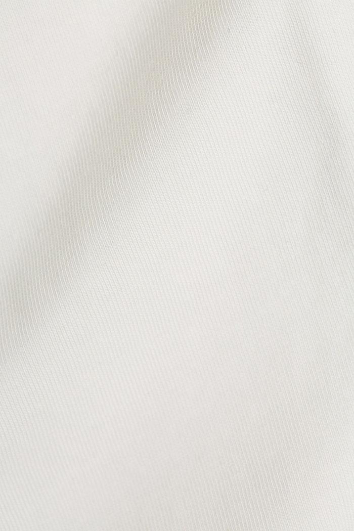 Longsleeve aus 100% Organic Cotton, OFF WHITE, detail image number 4