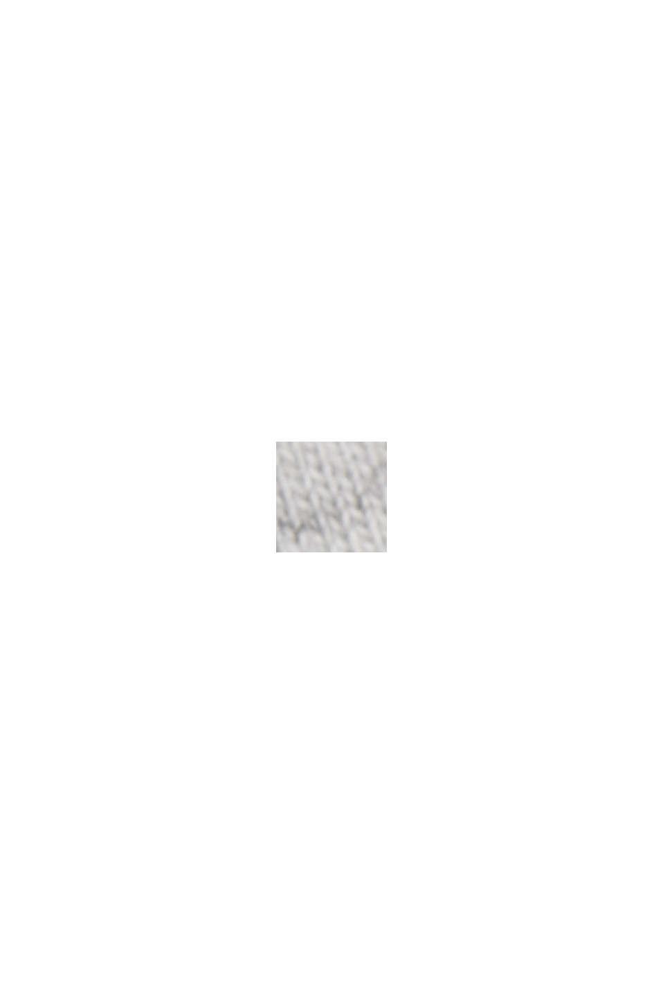Longsleeve mit Organic Cotton und LENZING™ ECOVERO, LIGHT GREY, swatch