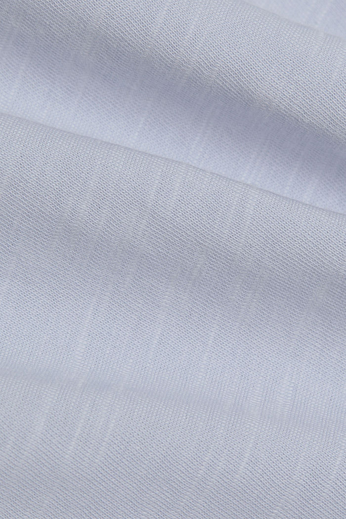 T-Shirt aus 100% Organic Cotton, LIGHT BLUE LAVENDER, detail image number 4