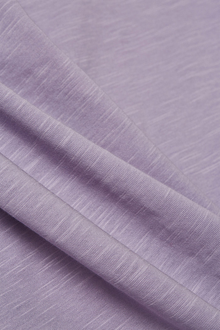 T-Shirt aus 100% Organic Cotton, LILAC, detail image number 4