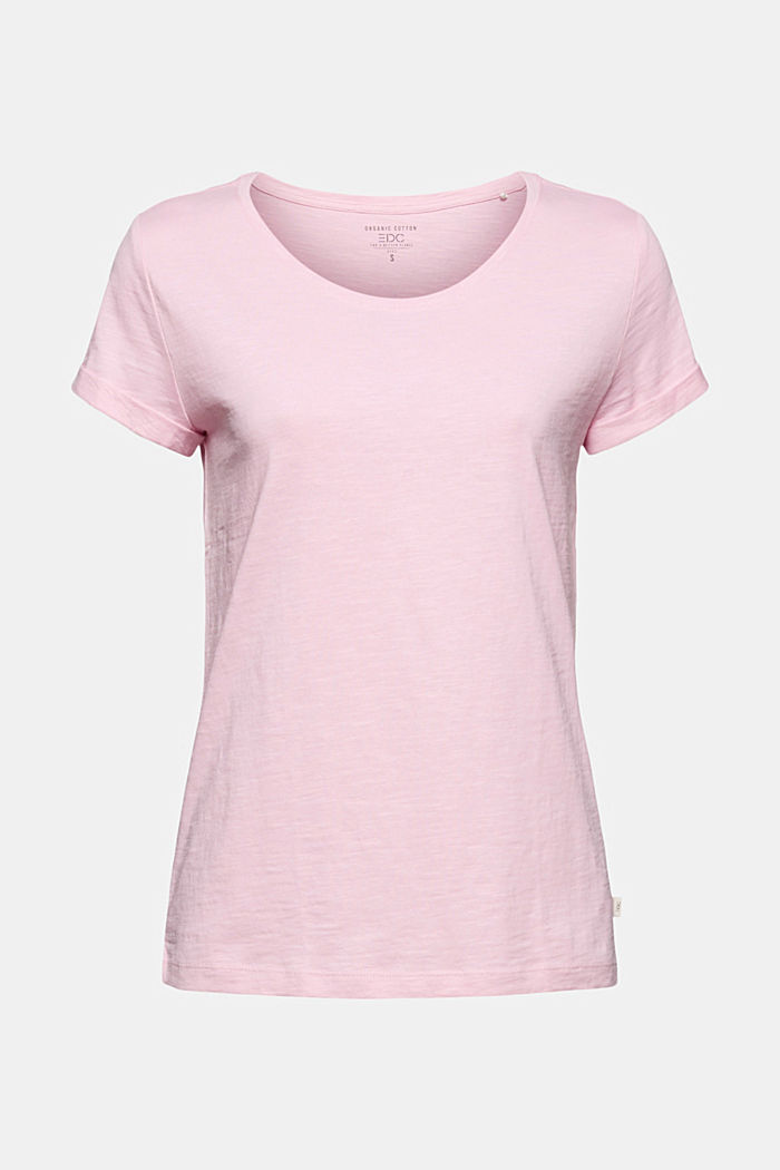 T-shirt made of 100% organic cotton, PINK, detail image number 5