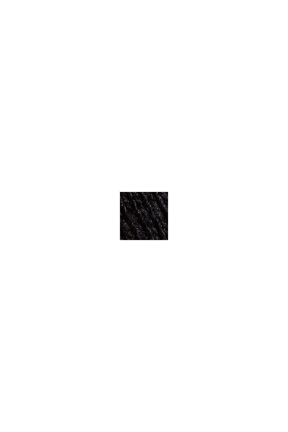 T-shirt van 100% organic cotton, BLACK, swatch