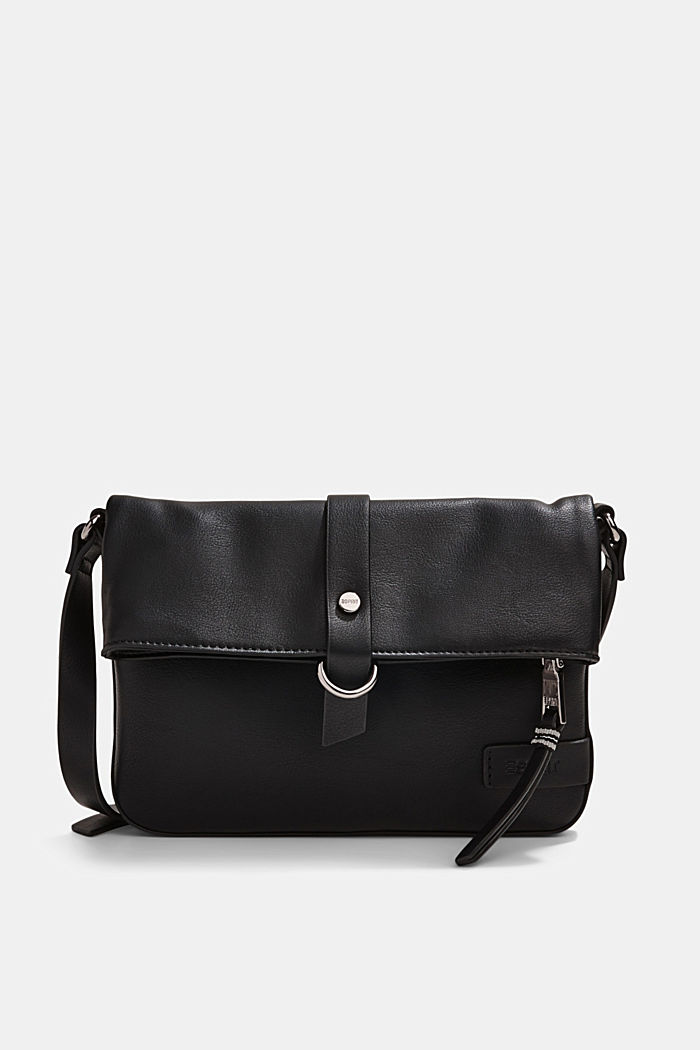 Vegan: faux leather shoulder bag